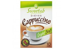 Sweetab cappuccino 3in1 light 10x10g 071308  W  4040192000  Sweetab cappuccino 3in1 light 10x10g 071308